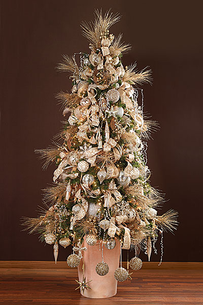 Silver + Gold Tree