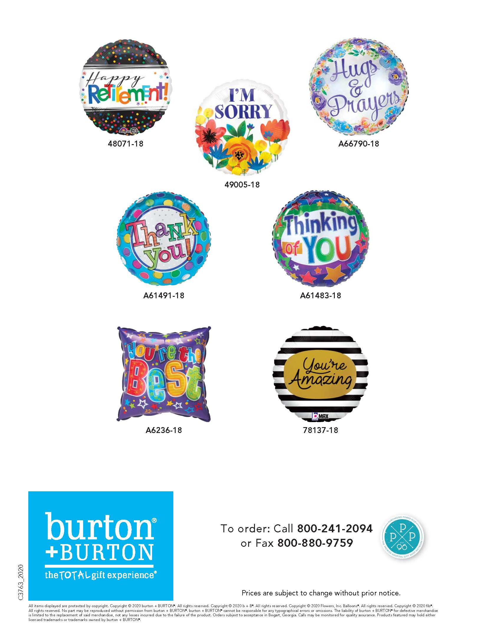 Best Selling Balloon Designs